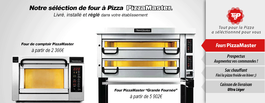Fours à pizza professionnels