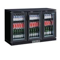 Arrière-bar noir 273 bouteilles Polar