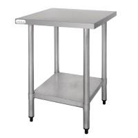 Table de Préparation en Inox 600x600mm - Vogue T389