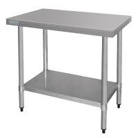 Table de Préparation en Inox 900x600mm - Vogue T375