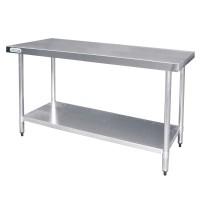 Table de Préparation en Inox 900x600mm - Vogue T376