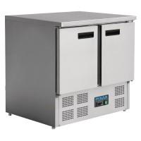 Table réfrigérée compacte 2 portes 240L Polar