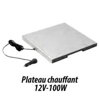 Plateau chauffant pour box à pizza ThermoFutureBox